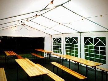 bord til telt